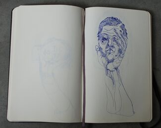 Open Sketchbooks No. 2, installation view