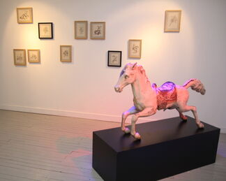 The Circus Has Left Town, installation view