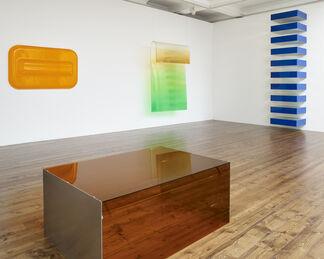 Crossroads: Kauffman, Judd and Morris, installation view