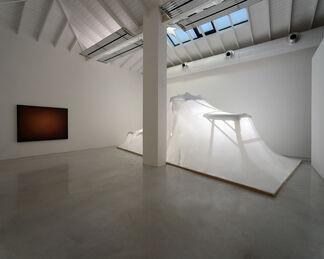 "Emil Lukas - ""Curvature"", installation view"