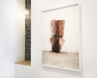 Ken Fandell:  Blowouts Bricks Lines, installation view