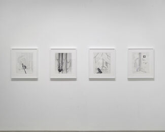 Marc Swanson: Inclinations, installation view