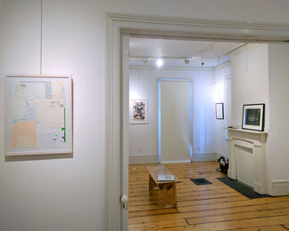 """""""Rock, Paper, Scissors"""": Suzanna Frosch, Polly King, John Rosis, installation view"""