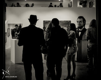 """INAUGURAL EXHIBITION: """"THE COLLECTION"""" Curated by C.R. Stecyk III, installation view"""