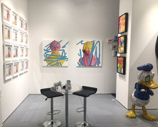 Station 16 Gallery at SCOPE Miami Beach 2016, installation view