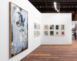 Rosy Keyser at the Marfa Invitational art fair, installation view