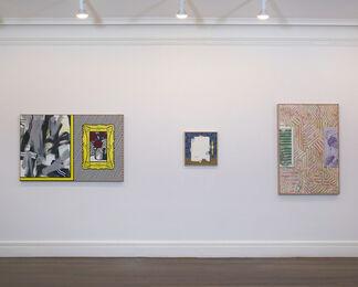 Jasper Johns and Roy Lichtenstein – Walls, installation view