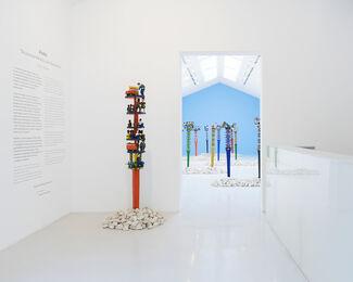 "ALOALO ""SCULPTURES MAHAFALY DES EFIAIMBELOS"", installation view"