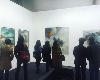 Hafez Gallery at Art Central 2016, installation view