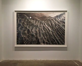 Zaria Forman : Slip, installation view
