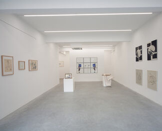 Italian Beauty: works by Giulio Paolini, Domenico Bianchi and Giò Ponti, installation view