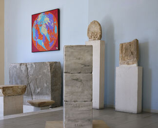Constantin Xenakis: GREECE AND WRITING CODES, installation view