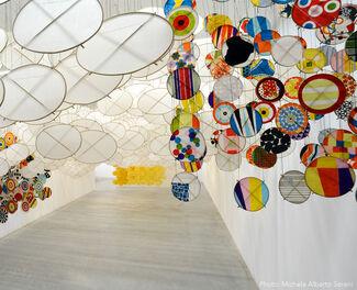 Jacob Hashimoto - The Other Sun, installation view