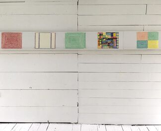 LOVE BLANKET new drawings by RICHARD KOOYMAN, installation view