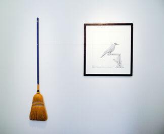 "David deVillier ""Of Many Minds"", installation view"