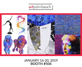Blue Gallery at Art Palm Beach 2019, installation view