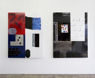 ;-), installation view
