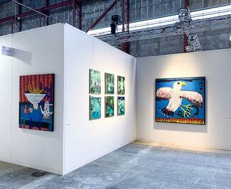 Kristin Hjellegjerde Gallery at Enter Art Fair 2020, installation view