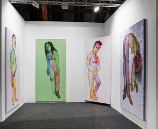 Steve Turner at Art Los Angeles Contemporary 2017, installation view