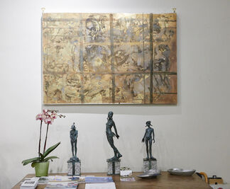 Raphaël Jaimes-Branger: Bronzino to Mondrian, 300 Years of Composition, installation view