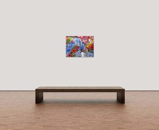 """Dennis Church """"Public Attire"""", installation view"""