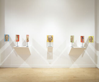 Aime Mpane: A Dual Perspective, installation view