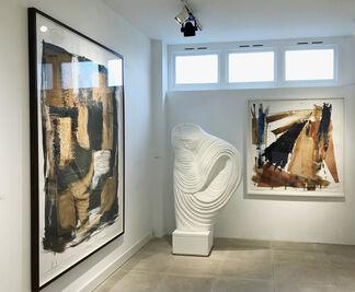 Serena Morton at London Art Fair 2018, installation view