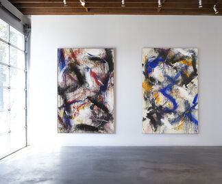 Norman Bluhm: 1956 - 1960, installation view