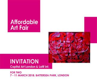 Affordable Art Fair - Battersea Spring, installation view