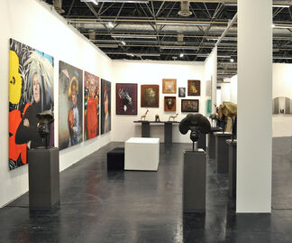 Mazel Galerie at Art.Fair Cologne 2016, installation view