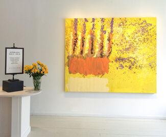 INTERLOCK: Color & Contrast in Abstraction, installation view