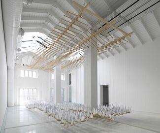 "Jacob Hashimoto - ""Armada"", installation view"
