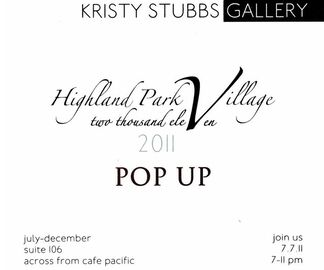 Highland Park Village Pop-Up, installation view