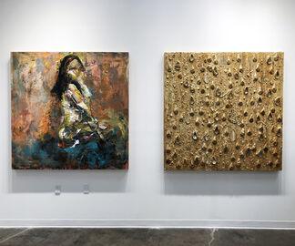 Figurine by Haleh Mashian, installation view