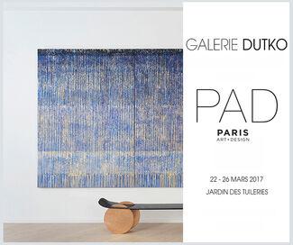 Dutko Gallery at PAD Paris 2017, installation view