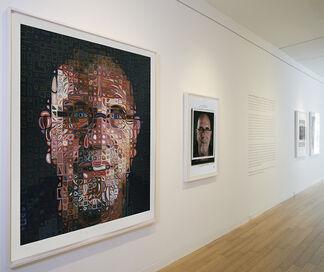 Chuck Close: Photo Maquettes, installation view