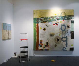Squeak Carnwath - Recent and Now, installation view