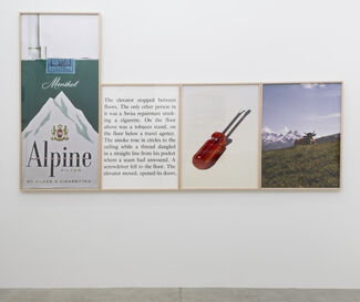 Bill Beckley; The Accidental Poet (The Avoidance of Everything), 1968 - 1978, installation view