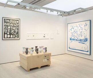 Ruttkowski;68 at Draw Art Fair London 2019, installation view