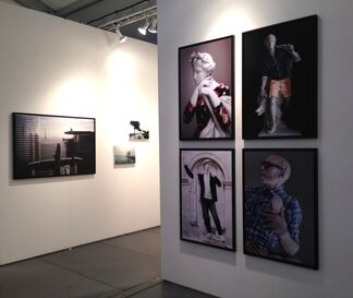 VICTORI CONTEMPORARY at SCOPE Basel 2014, installation view