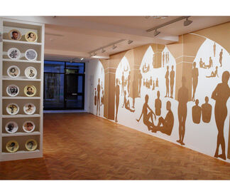 Mary Evans   Cut and Paste, installation view