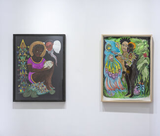 June Two Person Show, installation view