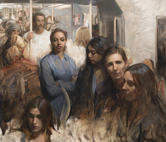 """Nick Alm """"Scenes From Somewhere"""", installation view"""