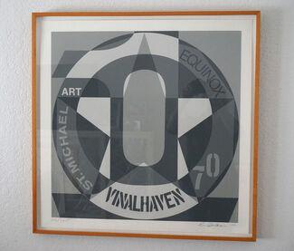 Robert Indiana: Autoportraits Vinalhaven Suite 1980, installation view