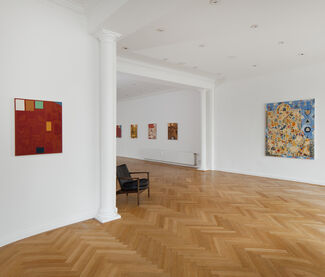 Kour Pour Polypainting, installation view