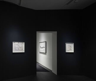 Rose Wylie - The Curator is Present, installation view
