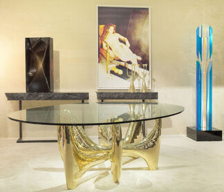 Galerie Yves Gastou at PAD Paris 2015, installation view