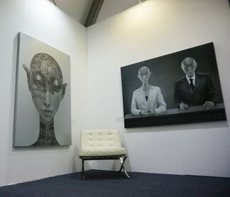 The Dragon Year at Art Central 2017, installation view