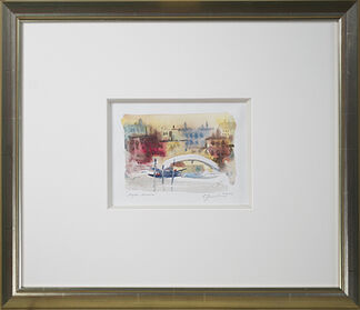 Craig Lueck Watercolors, installation view