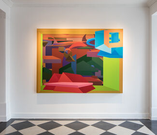 Al Held: Luminous Constructs   Paintings & Watercolors from the 1990s, installation view